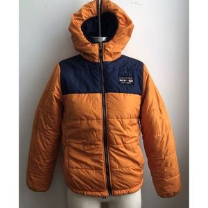 Nautica 90's Competition Reversible Puffer Jacket